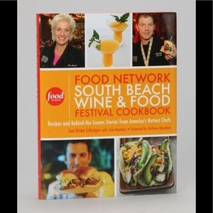 Food network south beach food festival cookbook NW